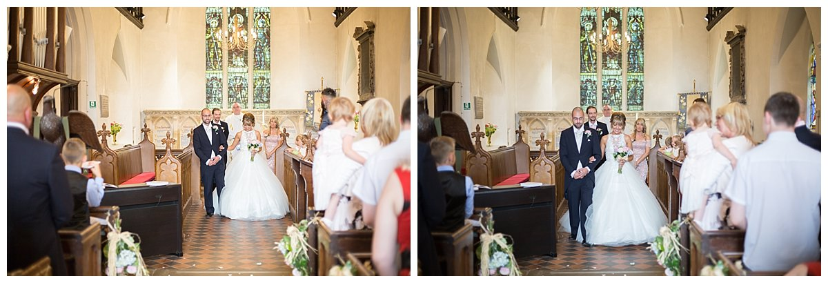 wedding in kirby muxloe