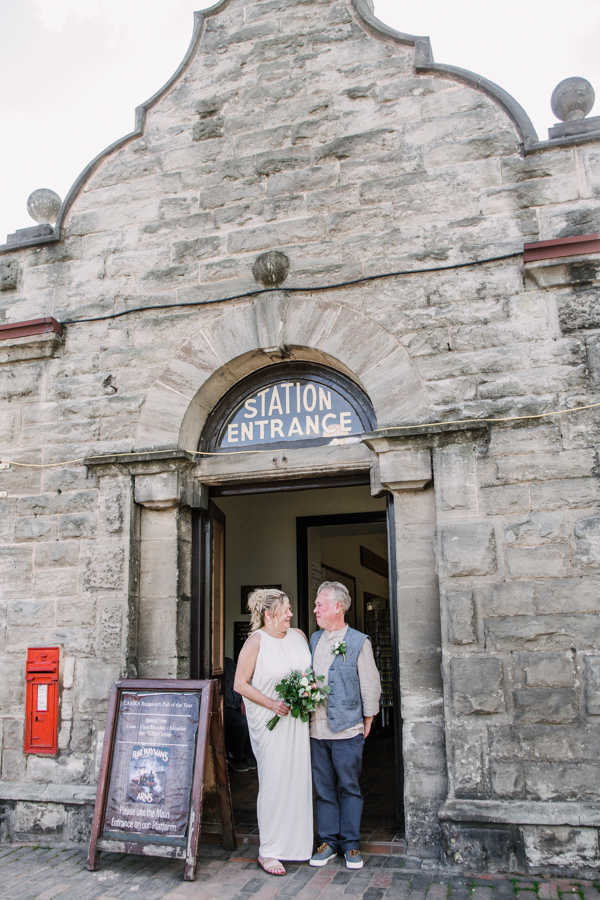 Wedding on the Seven Valley Railway