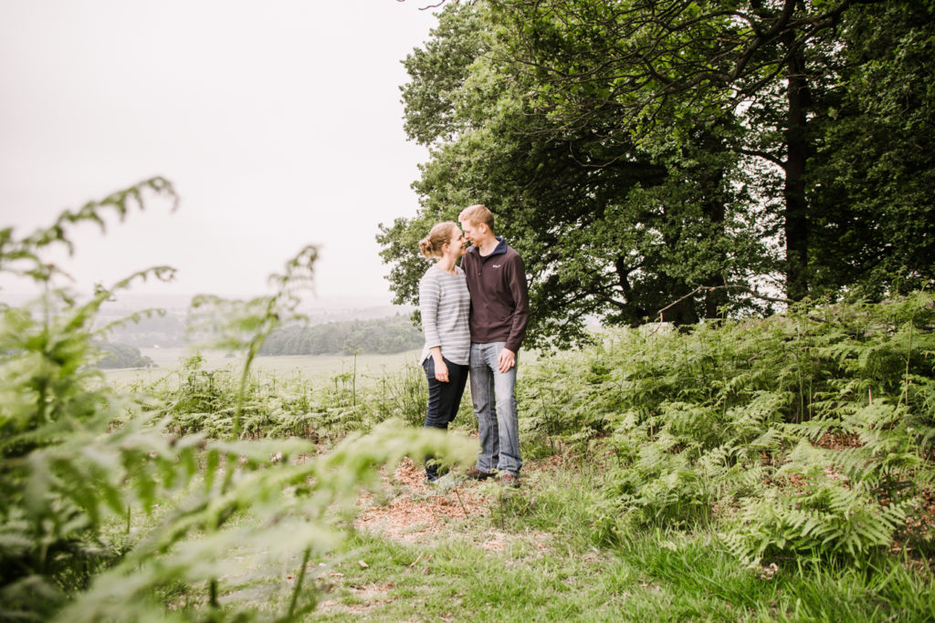 engagement shoot leicester