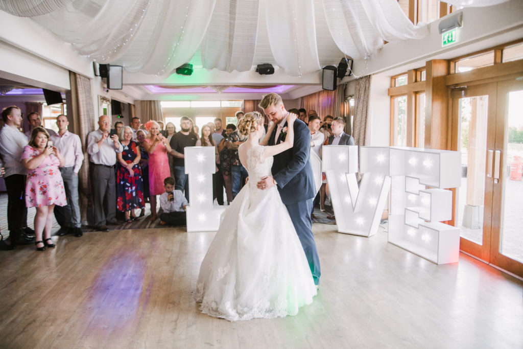 wedding aston wood golf club