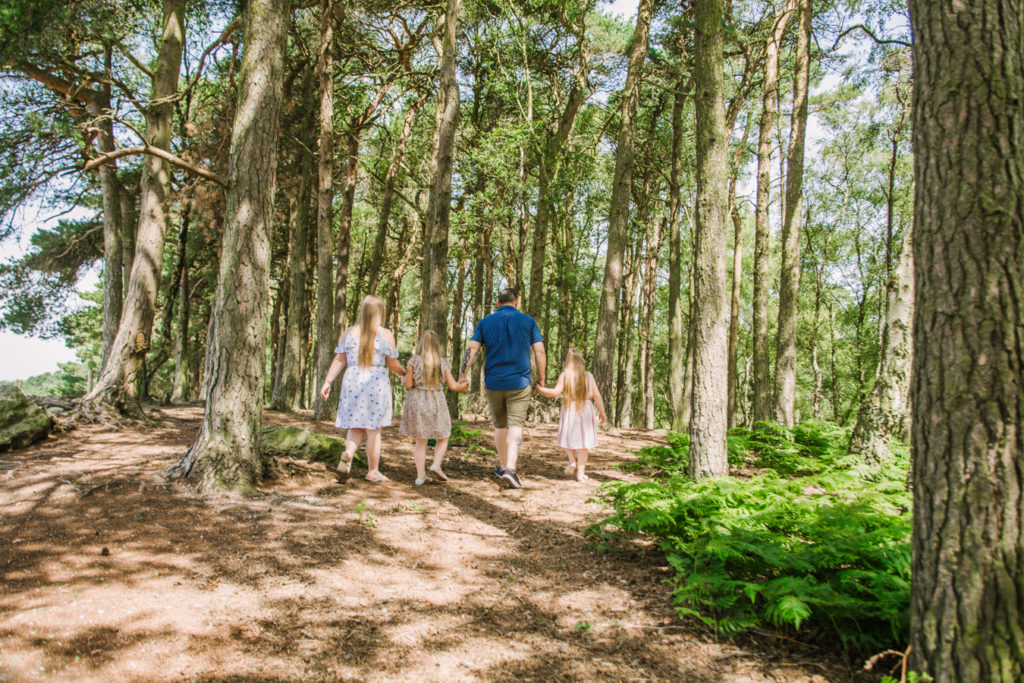 engagement shoot lickey hills