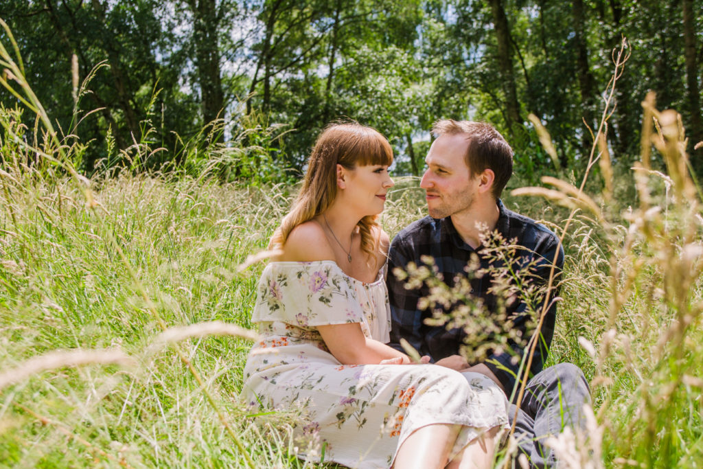 Stone Manor engagement shoot