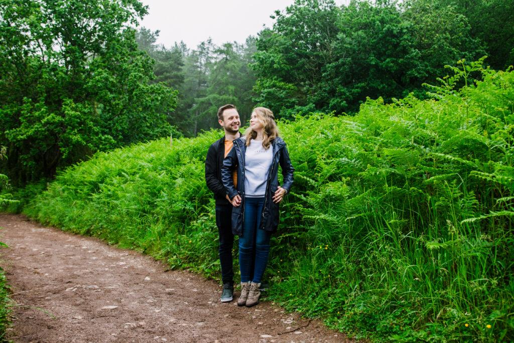 engagement shoot Clent
