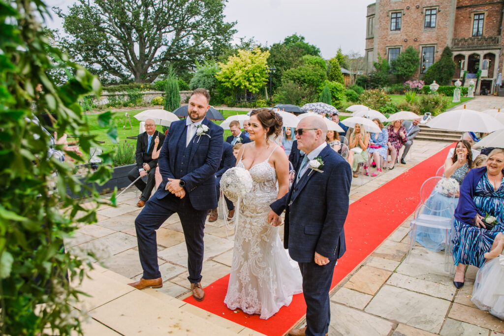 wedding Rowton Castle