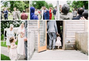 wedding at the old stables
