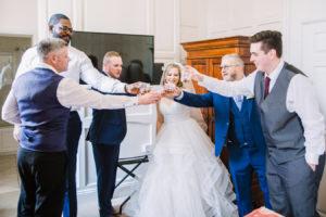 wedding photographer haughton hall hotel